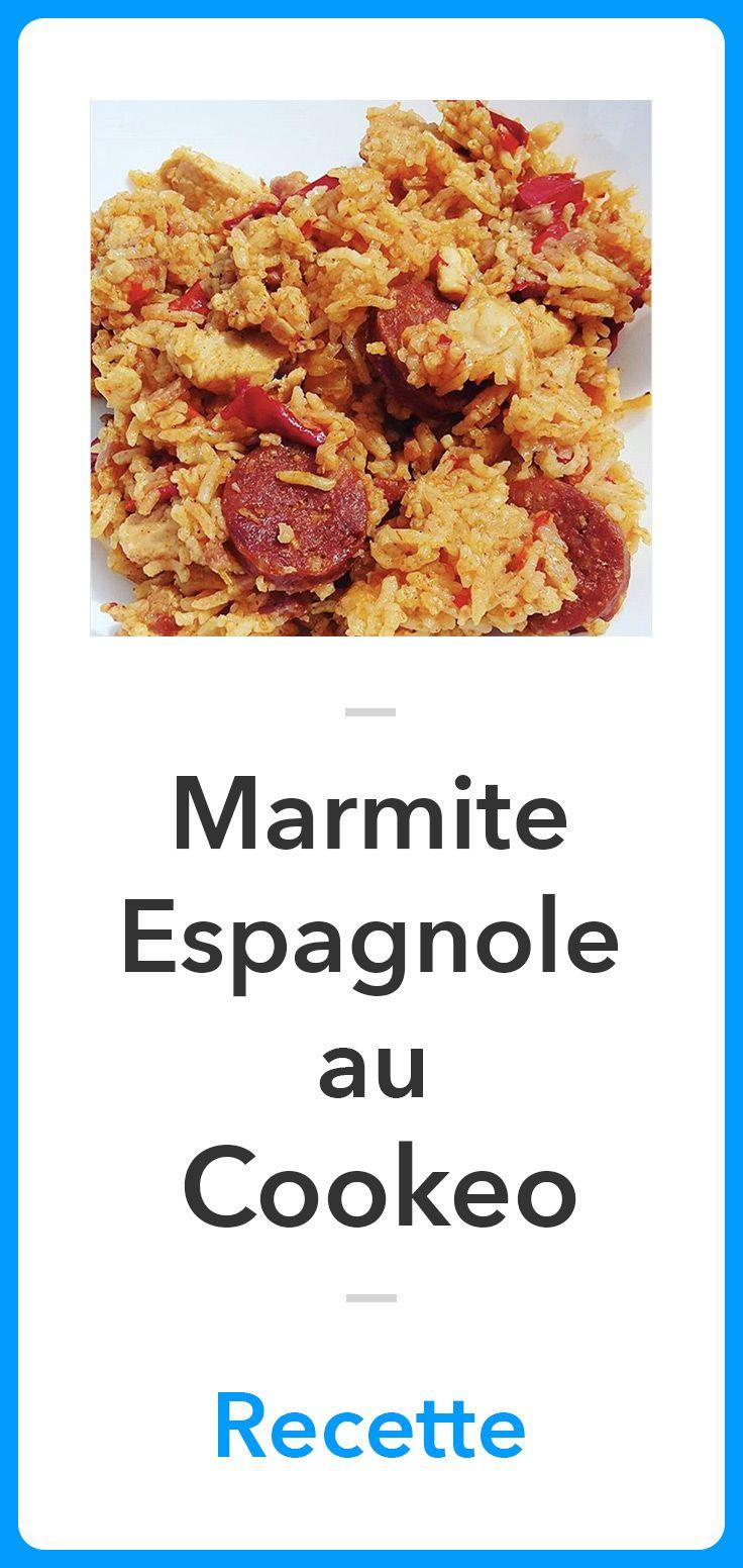 Marmite Espagnole Au Cookeo : marmite, espagnole, cookeo, Marmite, Espagnole, Cookeo, Meilleure, Recette, Espagnol,, Recette,