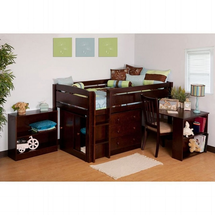 1000 Ideas About Junior Loft Beds On Pinterest Bunk Bed Desk Bunk Bed With Desk And Loft