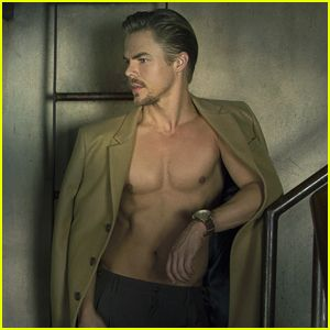 Derek Hough Goes Shirtless For 'Ferrvor' Mag Feature - Read His Interview Here!