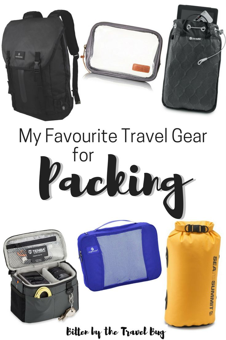 Want to know the best travel gear? I'm sharing a list of my favourite travel gear for packing which has been tried and tested over the past five years that is both practical and functional.