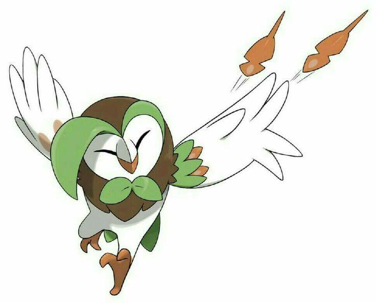 Dartrix even has its own batarangs! #Pokemon #Pokémon #PlayPokemon #TrainOn #Pokemon20 #PokemonSunMoon