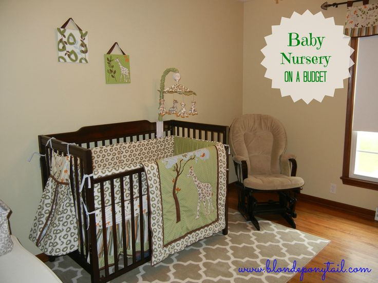 totally digging this! Baby Nursery on a Budget. Gender Neutral