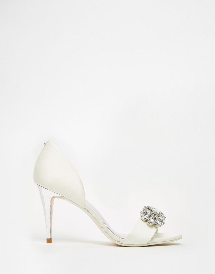 Immagine 2 di Ted Baker - Phinium Tie The Knot - Sandali da sposa decorati con tacco