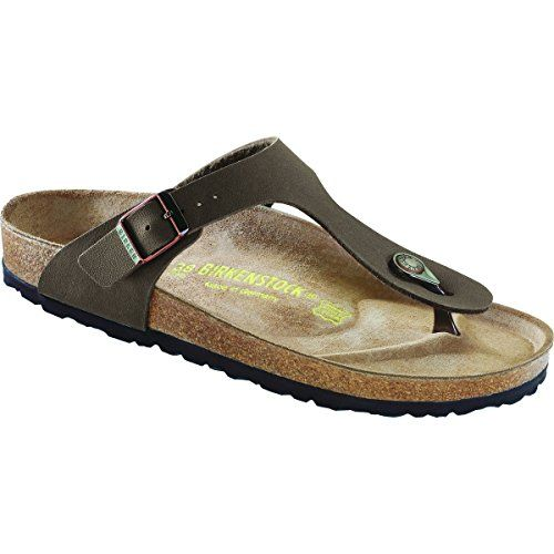Birkenstock Gizeh Birkibuc ThongMocha39 EU >>> You can find more details by visiting the image link.