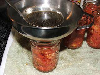 Canning Granny: Canning Bruschetta in a Jar