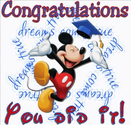 pictures of graduation | Congratulations You Did It! Graduation Greetings | Graphics99.com