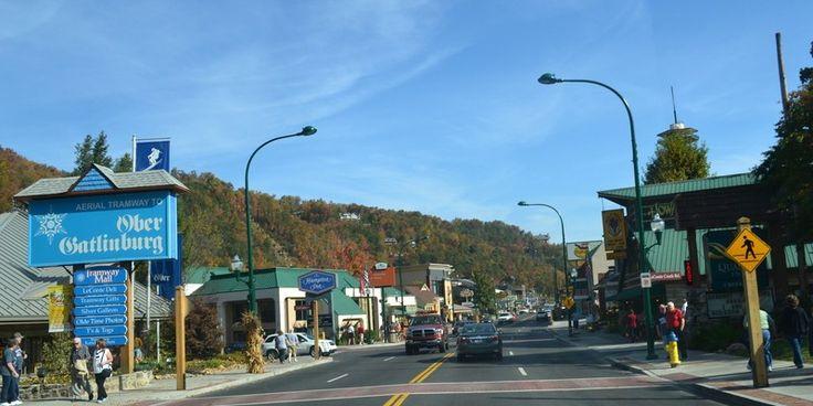 The Parkway in Gatlinburg
