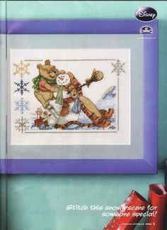 Winnie the Pooh Pooh and Pals Cross Stitch Crazy Issue 133 January 2010  Hardcopy
