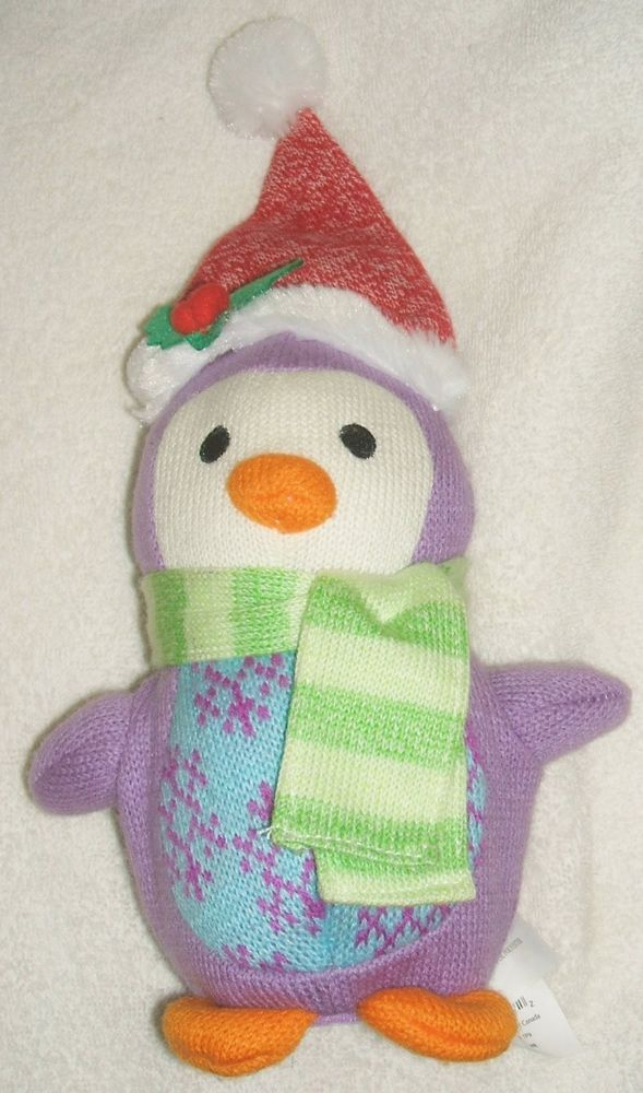 Gemmy Sock City Zoo Animated Dancing Penguin Singing Christmas Dance Again J Lo #Gemmy