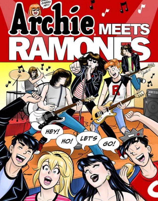 Los Ramones saldrán en el cómic de Archie.