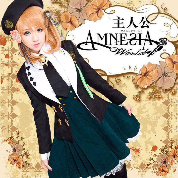 NEW EXCLUSIVE Amnesia HEROINE Anime Uniform Costume