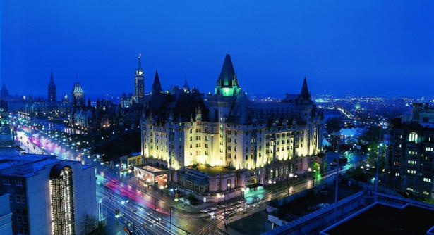 Another shot of Ottawa's Chateau Laurier
