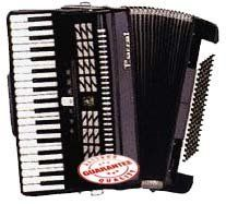 Parrot Piano Accordion 120 Bass 41 keys Black Color T5001-B by Parrot. $898.00. Parrot Piano Accordion 120 Bass, 41 Keys, 3 Sets of Reeds Red Color. Prodeced in the world largest accordion factory, Parrot accordions have been in production sonce 1952. Parrot piano Accordion 120 bass, 41 keys with 3 sets reeds. Includes: Leather Adjustable Padded Shoulder Straps, Adjustable Hand Strap , Premium Case.. Save 25% Off!