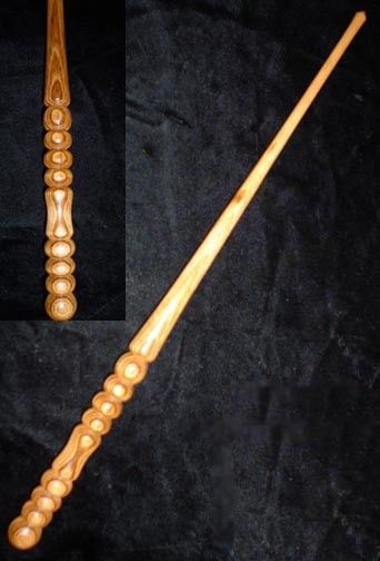 GONCALO ALVES Handmade MAGIC WAND Pagan Wicca by gildedquill, $44.99  Goncalo Alves is a fine-grained rosewood hailing from rainforest climates. Sometimes called Tigerwood it has a mystique to its mischeivous energy that lends to the uncovering of wild mysteries and the favours of the bold spirit toward the blessings of fate.