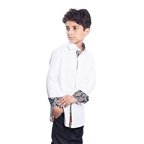 Elie Balleh Milano Italy Boys Slim Fit Shirts 2016 ** You can find more details at