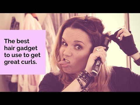 A video tutorial on how to curl your hair... with the best gadget ever! - Tech…