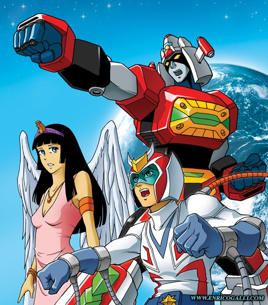 Voltes V Cartoon Characters : Images about mecha anime on pinterest cartoon