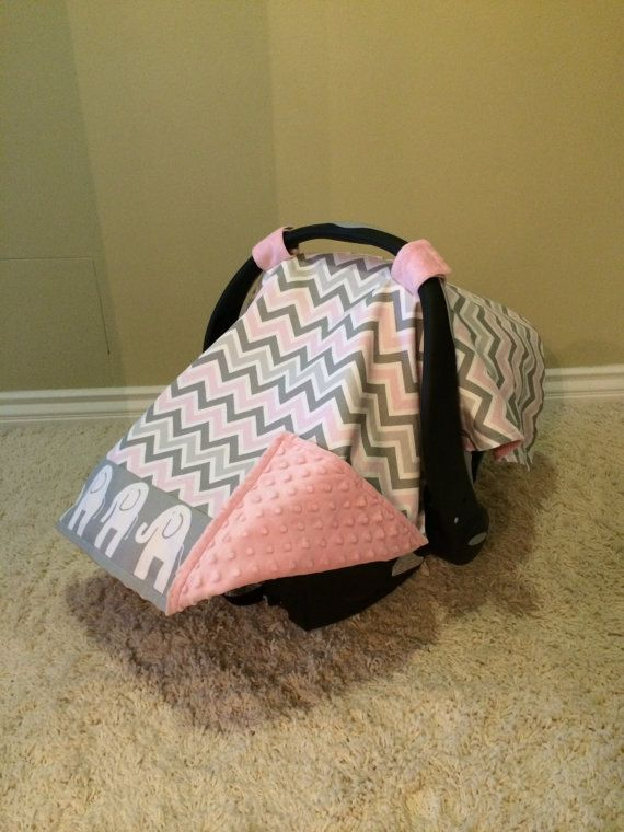 Gray+Pink+Chevron+and+Elephant+Prints+Baby+by+KayloBabyBoutique