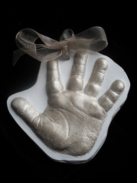 Handprint/Footprint Casting Ornament-2D