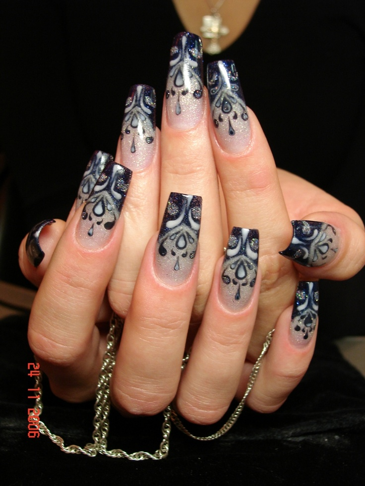 170 best nail ideas images on pinterest nail ideas bling nail great example of russian style nailart i love it prinsesfo Choice Image