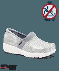 Grey's Anatomy by SoftWalk White/Moonstruck Meredith Nursing Shoe