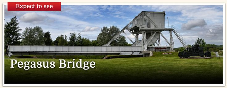 D-Day Landings in Normandy Tour Itinerary - Guided Battlefield Tours by Leger Holidays. Pegasus Bridge