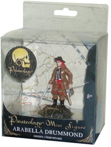 Pirateology 3 Inch Tall Pirate Mini Figure - Arabella Drummond with Display Stand, http://www.amazon.com/dp/B00148GUEM/ref=cm_sw_r_pi_awdm_-YrCvb123GK86
