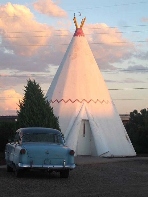 Wigwam Motel, Route 66, Arizona. Reed and I were there a few years ago on road trip to grand canyon. what a trip!