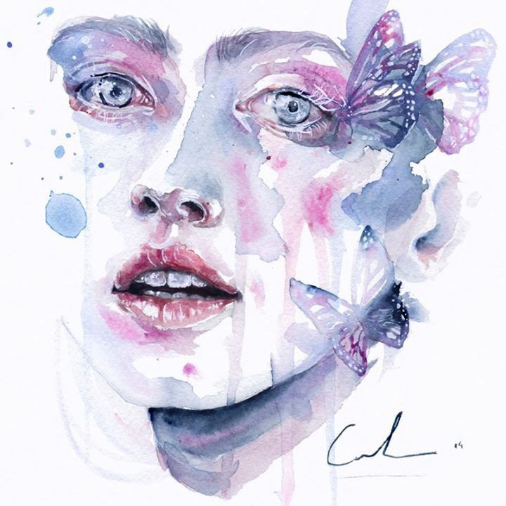 """""""What She Saw,"""" Agnes Cecile"""