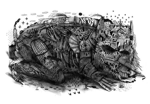 LINEWORK by Saddo , via Behance