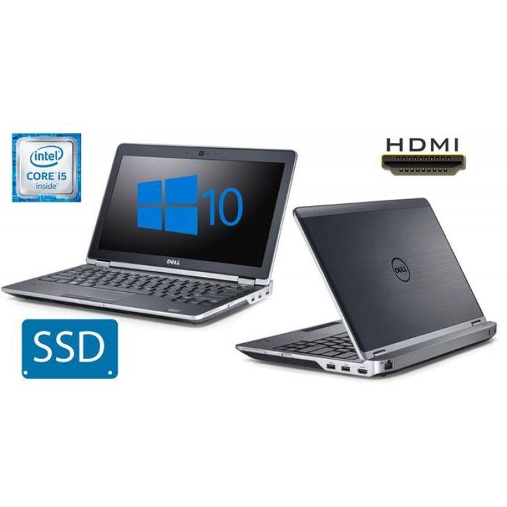 Super Fast Dell E6230 Core i5 128GB SSD 12.5 Laptop WebCam HDMI Win10