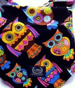 Head scarf magic owls