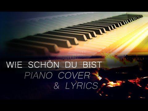 Wie schön du bist - Sarah Connor (piano cover & lyrics)