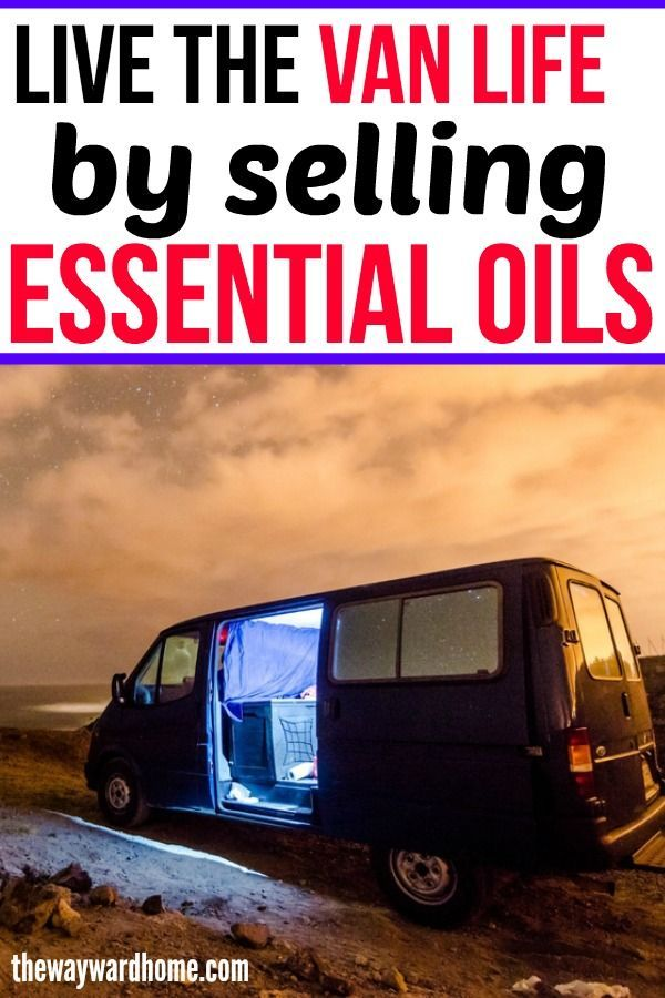 Selling Essential Oils Allows One Van Lifer To Travel Full Time