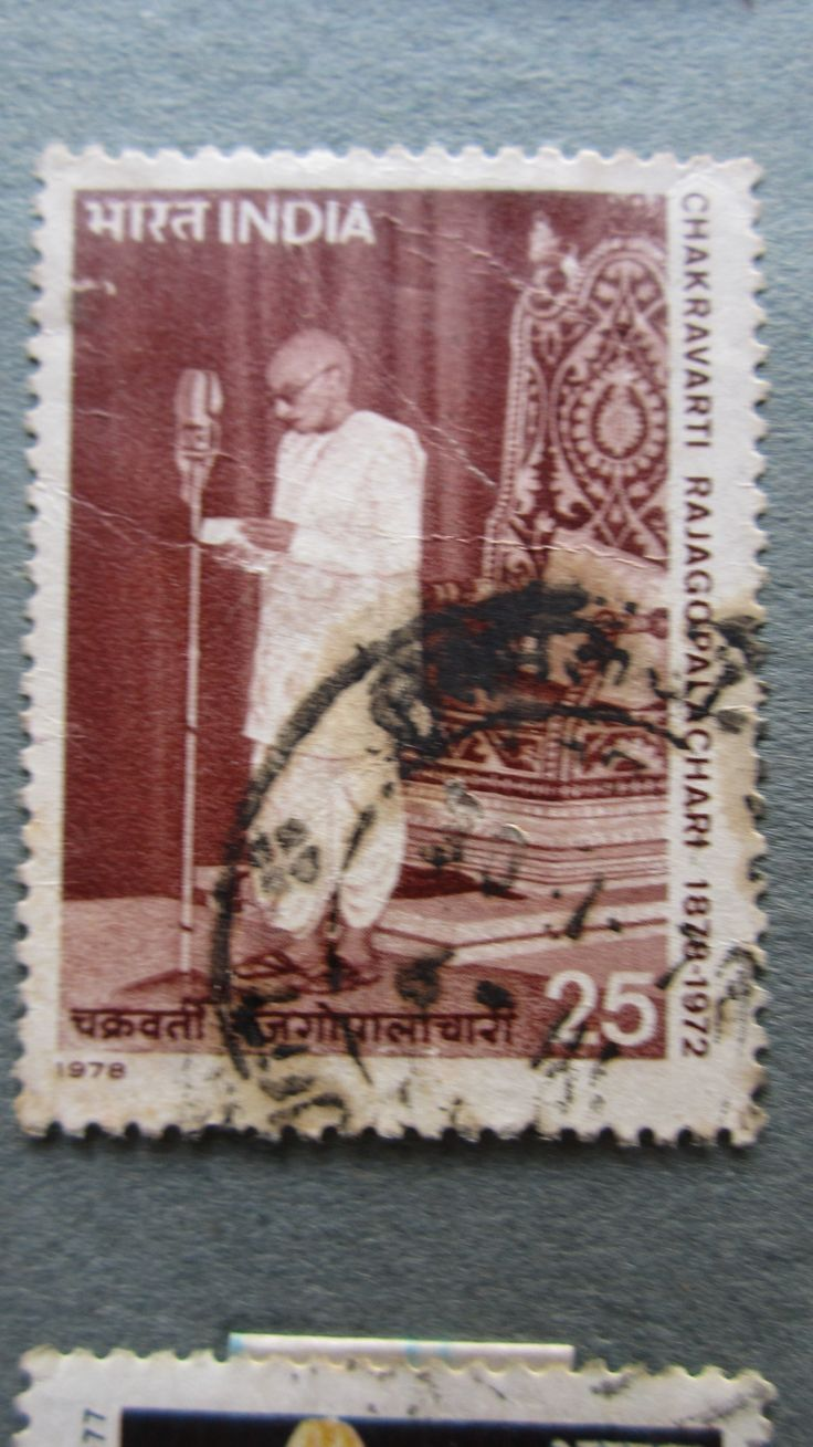 India - C.Rajagopalachari - First Governor-General of independend India