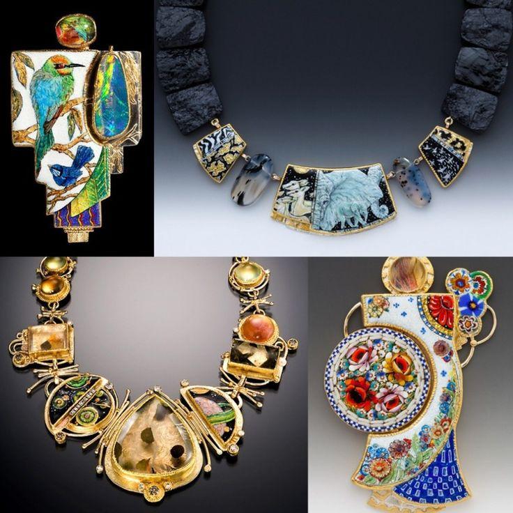 Фантастические эмали в ювелирных украшениях Мarianne Нunter - Ярмарка Мастеров - ручная работа, handmade