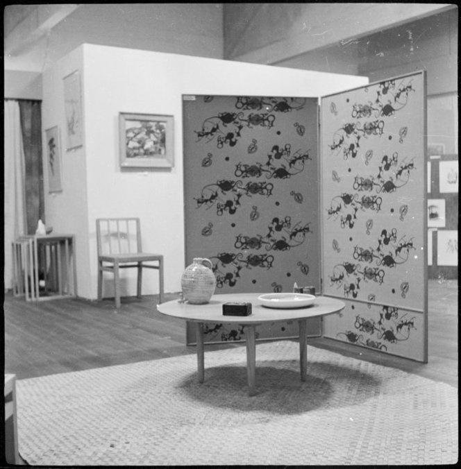 Furniture designed by architect Ernst Plischke (1949-1951)