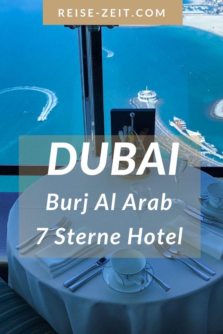 Burj Al Arab Ein Luxushotel Aus 1001 Nacht Dubai Reise Reisen