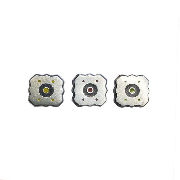 Goldeneye 64 Mines (3 Pack) - Enamel Pins