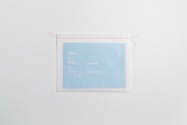 Ambidex Spring/Summer Exhibition Invitation (2012) by Makoto Kamimura, via Behance