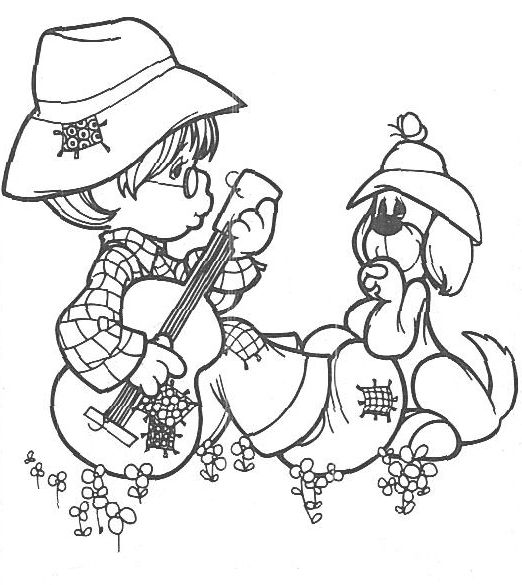 full pageprecious moments coloring pages - photo#14