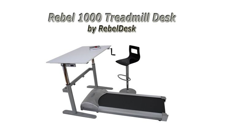 Rebel Treadmill 1000 For Use With Standing Treadmill Desk Review