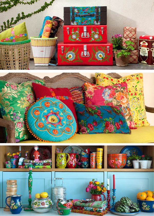 ~inspiration- so colourful and happy~        Bohemian