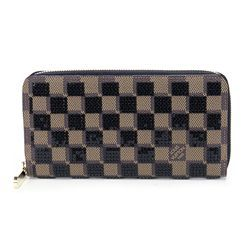 Louis Vuitton Damier Ebene Canvas Paillettes Zippy Wallet - $1,249.99