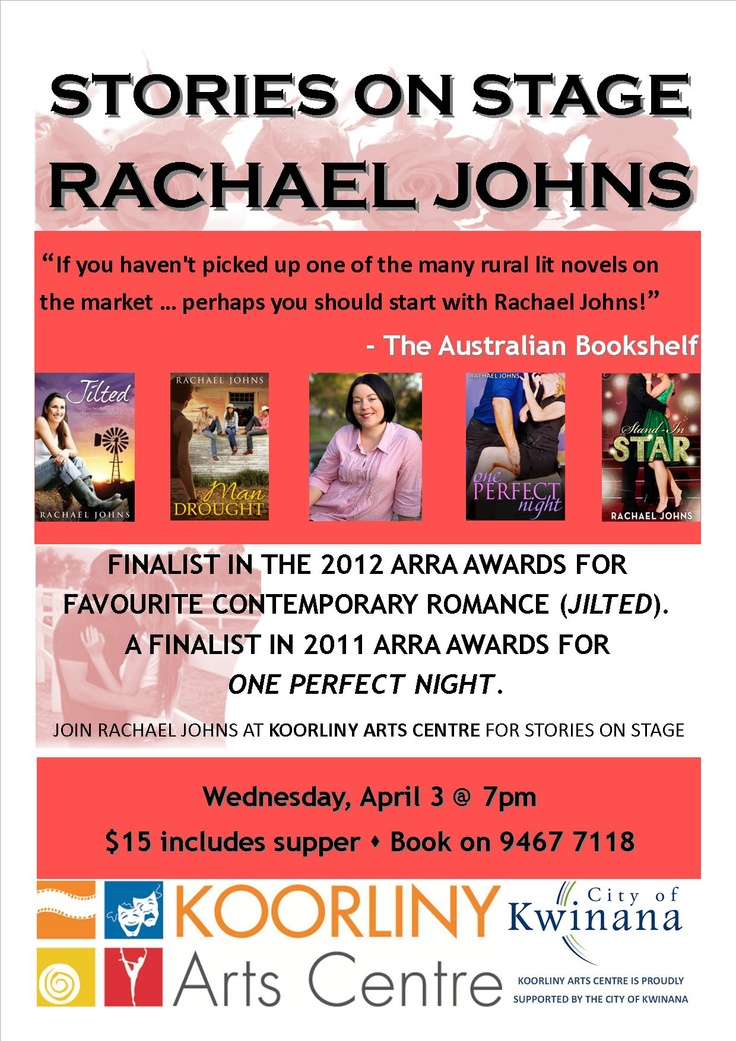 Stories on Stage, April 3