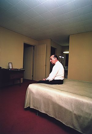 Huntsville, Alabama, ca. 1970. William Eggleston (American, born 1939) Gift of Jeffrey Fraenkel and Frish Brandt, 1991 (1991.1271) - © Eggleston Artistic Trust, Courtesy Cheim Read, New York. More info here: http://www.metmuseum.org/toah/works-of-art/1991.1271