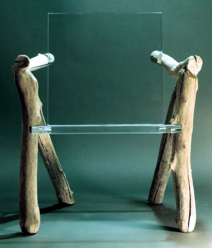 Contemporary Organic Chair Bare Bones by benforgeydotcom on Etsy, via Etsy.