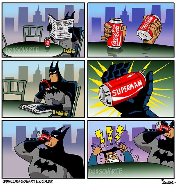 17 Cómics que muestran la rivalidad entre Batman y Superman - Taringa!
