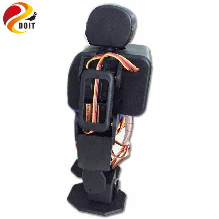 Official DOIT RC 18DOF Biped Robotic Educational Robot Humanoid Robot Kit Servo Bracket With 18pcs Servos for Dance/ Fighting