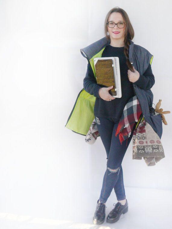 Gepäck Träger Weste / Jacke für Flugzeuge Kletterwald / Jacke mit Taschen / kleine Tasche / Weste nicht Rechnung / handgefertigte Jacke Reise